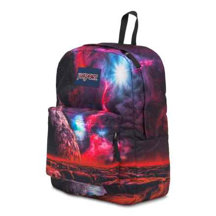 JanSport High Stakes Backpack in Multi Cosmic Waters - Closeouts