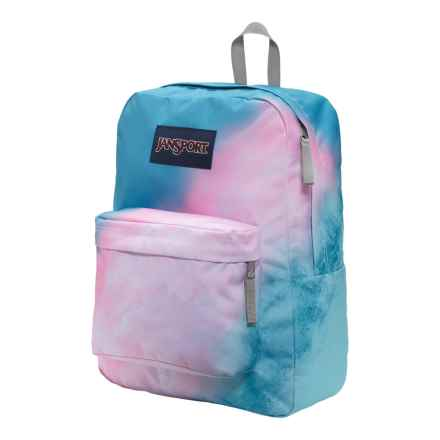 JanSport High Stakes Backpack in Multi Sun Fade Ombre - Closeouts