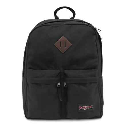 JanSport Hoffman Backpack in Black - Closeouts
