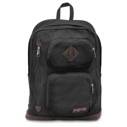 JanSport Houston Backpack in Black - Closeouts