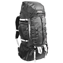 JanSport Klamath 68 Backpack - Internal Frame in Grey Tar/Forge Grey - Closeouts