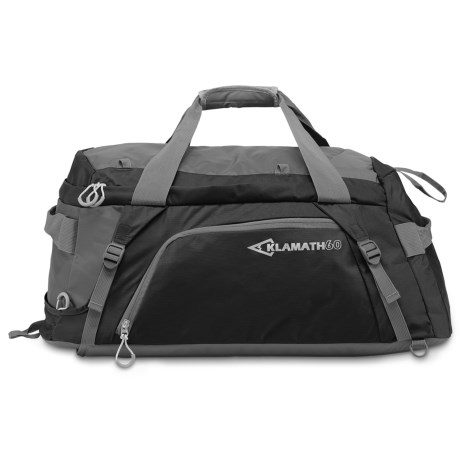 JanSport Klamath Carry-On Duffelpack - 60L in Black