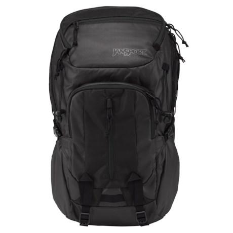 JanSport Onyx Equinox 34L Backpack in Black Onyx