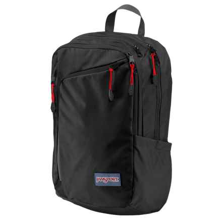 JanSport Platform Laptop Backpack in Black - Closeouts