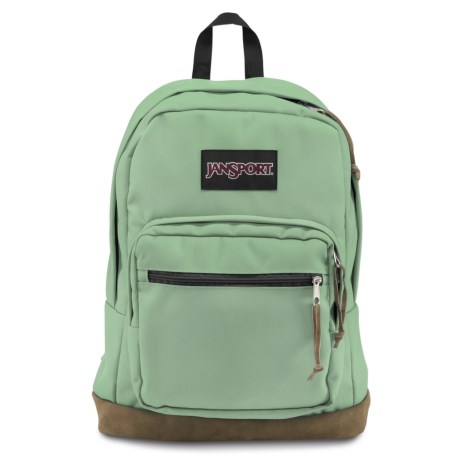 JanSport Right Pack 32L Backpack in Malachite Green