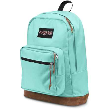 Jansport Right Pack Backpack in Aqua Dash - Closeouts