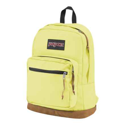 Jansport Right Pack Backpack in Yellow Iris - Closeouts
