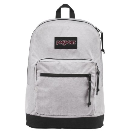 ac09702ac5afd JanSport Right Pack Digital Edition 31L Backpack in Grey Heathered Poly -  Closeouts