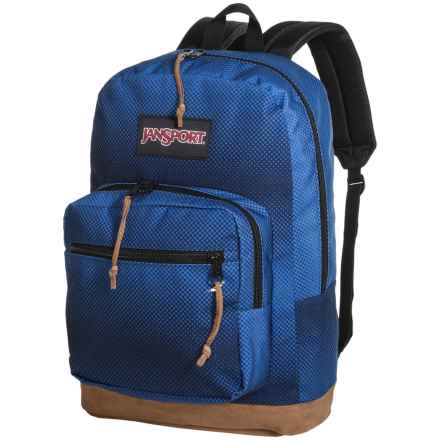 Jansport Right Pack Digital Edition Backpack in Jansport Navy Halftone Fade - Closeouts