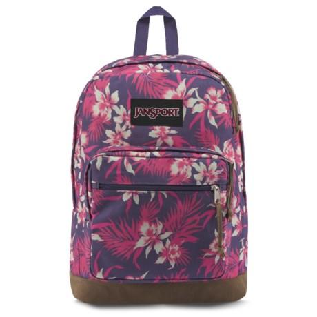 JanSport Right Pack Expressions 32L Backpack in Havana Floral