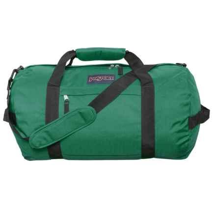 """JanSport Sport Duffel Bag - 20"""" in Collegiate Forest - Closeouts"""