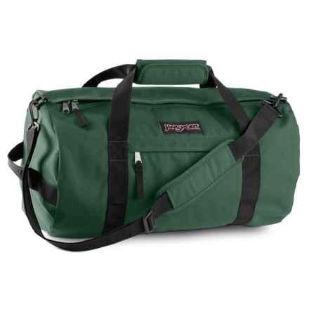 """JanSport Sport Duffel Bag - 30"""" in Collegiate Forest - Closeouts"""