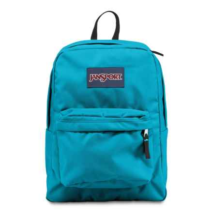 JanSport Superbreak 25L Backpack in Blue Crest - Closeouts