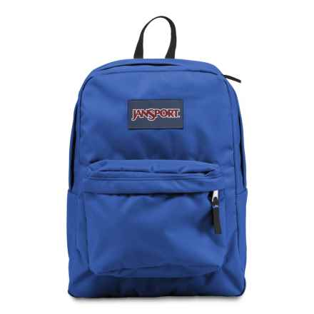 JanSport Superbreak Backpack in Blue Streak - Closeouts