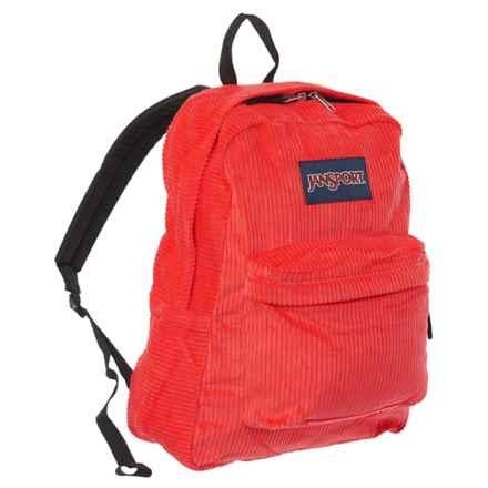 JanSport Superbreak Backpack in Coral Dusk - Closeouts