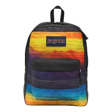 JanSport Superbreak Backpack in Multi Desert Mirage - Closeouts