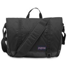 JanSport Throttle Messenger Bag in Black - Closeouts