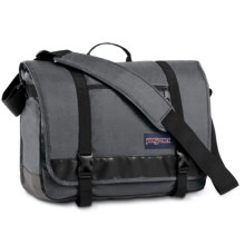 JanSport Throttle Messenger Bag in Forge Grey - Closeouts