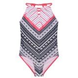 Jantzen Elephant Print One-Piece Swimsuit - UPF 50+ (For Little Girls)