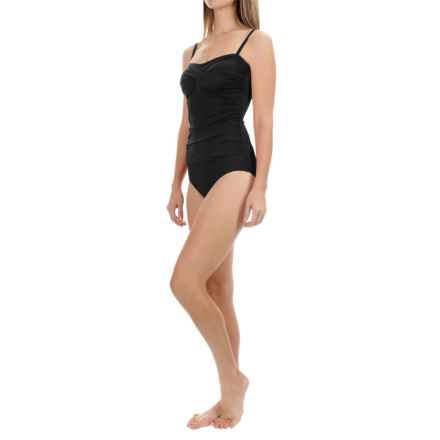 Jantzen Solid One-Piece Swimsuit (For Women) in Black - Closeouts