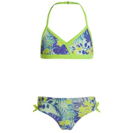 Jantzen Tropical Dreams Bikini Set - UPF 50+ (For Big Girls) in Tropical Dreams - Closeouts