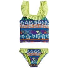Jantzen UPF 50+ Tankini (For Girls) in Aztec Floral - Closeouts