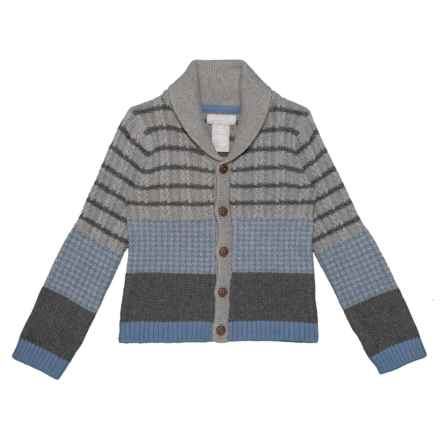 Jarvis Archer Cotton Cardigan Sweater (For Toddler Boys) in Medium Heather Grey - Closeouts