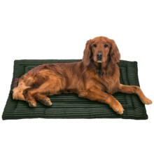 Jax & Bones Corduroy Cozy Dog Mat - Large in Olive - Closeouts