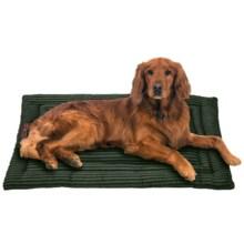 Jax & Bones Corduroy Cozy Dog Mat - Large in Olive - Closeouts