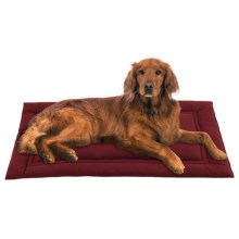 Jax & Bones Large Sleeper Dog Mat in Berry - Closeouts
