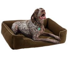 "Jax & Bones Sleeper Dog Bed - Large, 39x32"" in Choco - Closeouts"