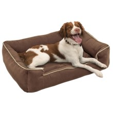 "Jax & Bones Sleeper Dog Bed - Medium, 32x27"" in Choco - Closeouts"