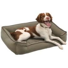 "Jax & Bones Sleeper Dog Bed - Medium, 32x27"" in Pine - Closeouts"