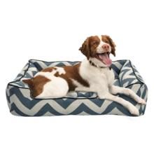 "Jax & Bones Spellbound Sleeper Dog Bed - Medium, 37x27x10"" in Blue - Closeouts"