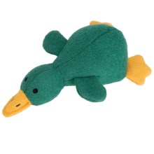 Jax & Bones Woolie Dog Squeak Toy - Large in Platypus - Closeouts