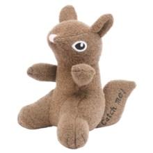 Jax & Bones Woolie Dog Squeak Toy - Large in Squirrel - Closeouts
