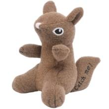 Jax & Bones Woolie Dog Squeak Toy - Small in Squirrel - Closeouts