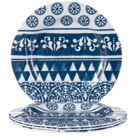 Jay Imports Old Town Salad Plates - Set of 4 in Blue