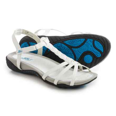 JBU by Jambu Azalea Vegan Leather Sandals (For Women) in White - Closeouts