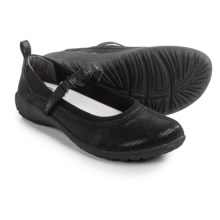 JBU by Jambu Berta Mary Jane Shoes - Microsuede (For Women) in Black - Closeouts