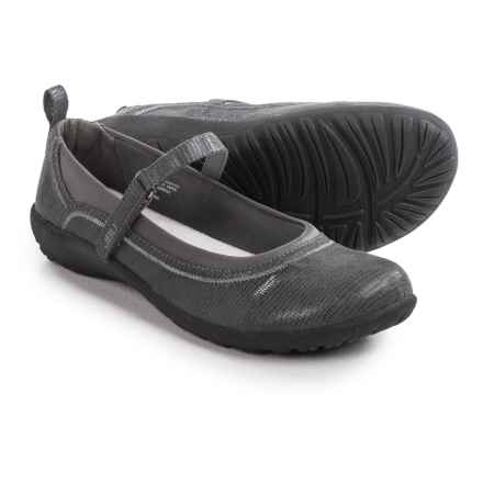 JBU by Jambu Berta Mary Jane Shoes - Microsuede (For Women) in Gunmetal - Closeouts