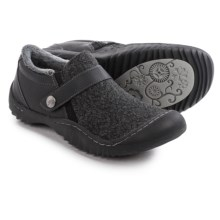 JBU by Jambu Blakely Shoes - Vegan Leather, Slip-Ons (For Women) in Black - Closeouts