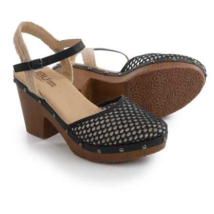 JBU by Jambu Celine Platform Sandals (For Women) in Black - Closeouts
