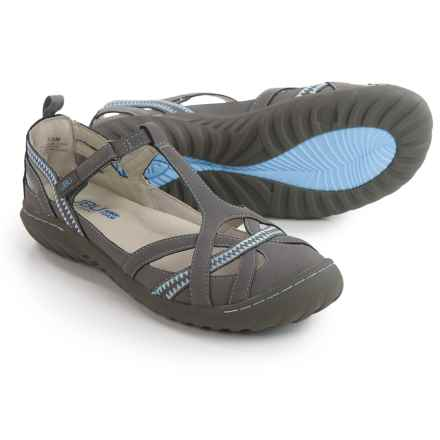 JBU by Jambu Charley Encore Mary Jane Shoes - Vegan Leather (For Women) in Grey - Closeouts