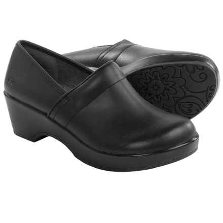 JBU by Jambu Cordoba Leather Clogs - Closed Back (For Women) in Black - Closeouts