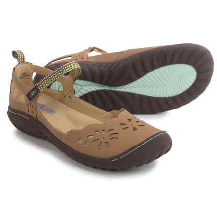 JBU by Jambu Deep Sea Encore Mary Jane Shoes - Vegan Leather (For Women) in Oatmeal - Closeouts