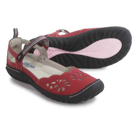 JBU by Jambu Deep Sea Encore Mary Jane Shoes - Vegan Leather (For Women) in Red - Closeouts