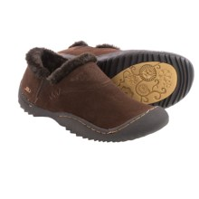 JBU by Jambu Dixie Shoes - Suede, Slip-Ons (For Women) in Brown - Closeouts