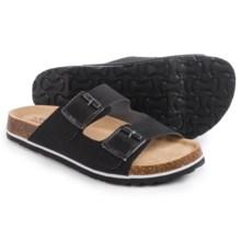 JBU by Jambu Ellen Too Sandals - Vegan Leather (For Women) in Black/Grey - Closeouts