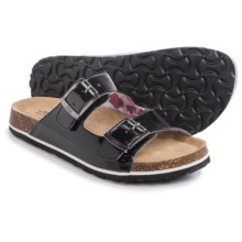 JBU by Jambu Ellen Too Sandals - Vegan Leather (For Women) in Black Patent - Closeouts